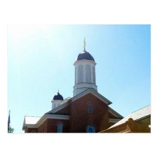 vernal utah lds mormon temple postcard