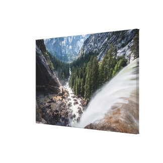 Vernall Fall and Mist Trail Canvas Print