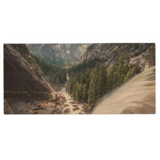 Vernall Fall and Mist Trail Wood USB 2.0 Flash Drive