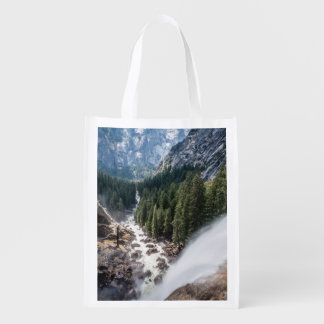 Vernall Fall and Mist Trail Reusable Grocery Bag