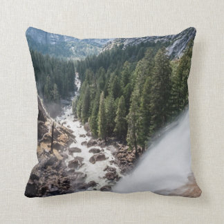 Vernall Fall and Mist Trail Throw Pillow