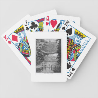 Verney Lovett Cameron (1844-94) Crossing the Lulin Bicycle Playing Cards