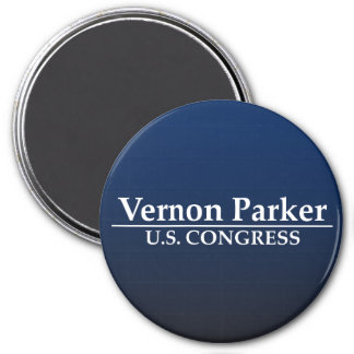 Vernon Parker U.S. Congress 7.5 Cm Round Magnet