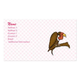 Vernon Vulture Business Card