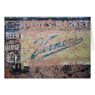 Vernors Card