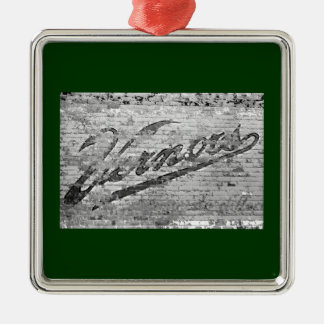 Vernors Wall Ann Arbor, Michigan Christmas Ornament