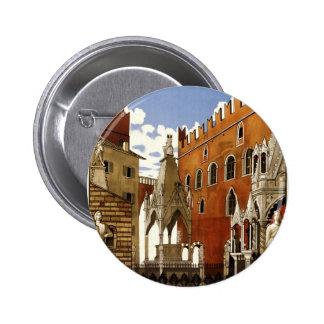 Verona 6 Cm Round Badge