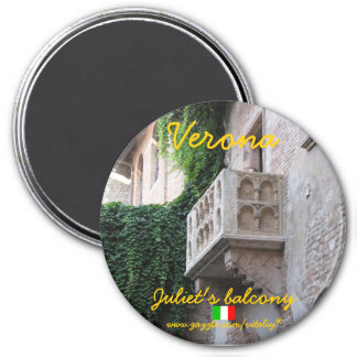 Verona Italy Juliet's balcony magnet design