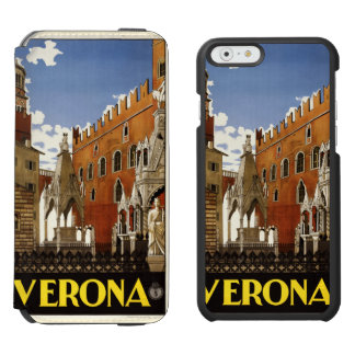 Verona Italy vintage travel cases Incipio Watson™ iPhone 6 Wallet Case