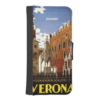 Verona Italy vintage travel custom phone wallets