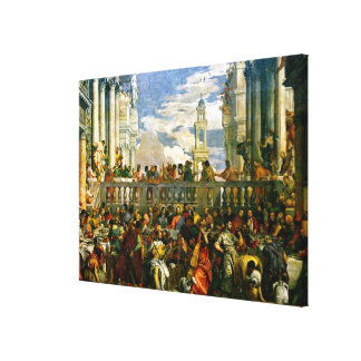 Veronese - The Wedding at Cana Stretched Canvas Print