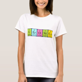 Veronica periodic table name shirt