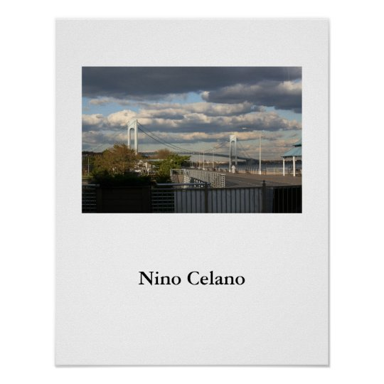Verrazano Narrows Bridge Poster