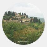 Verrazzano Round Stickers