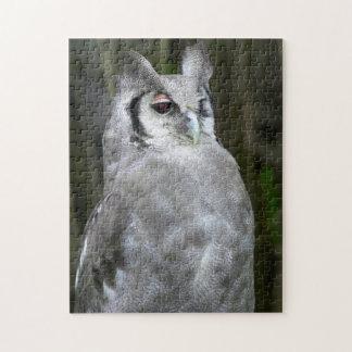 Verreaux's Eagle-Owl (Bubo Lacteus), Gauteng Jigsaw Puzzle