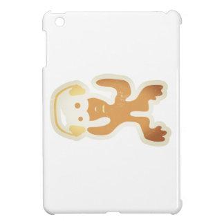 verrückte Kreatur als DJ in braun iPad Mini Cases