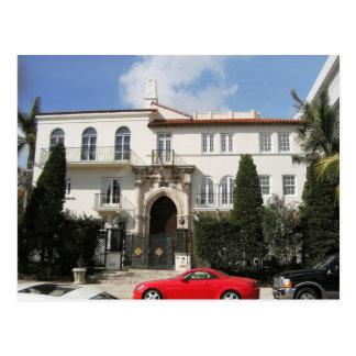 Versace Mansion Postcard