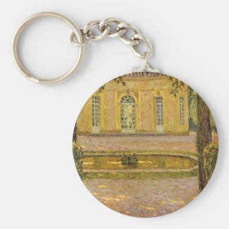 Versailles Collection Basic Round Button Key Ring