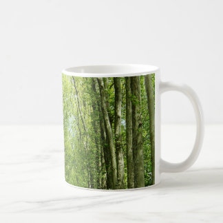 Versailles France Paris Trees Green Coffee Cup Basic White Mug