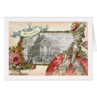 Versailles Marie Antoinette Elegance Card