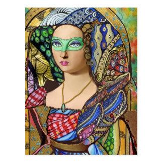 Versailles Masquerade Postcard