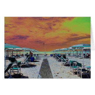 Versillian Riviera Card