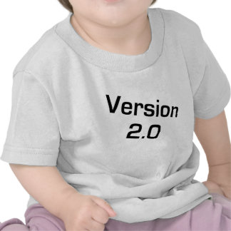 Version 2 0 Children s Infant Geek shirt