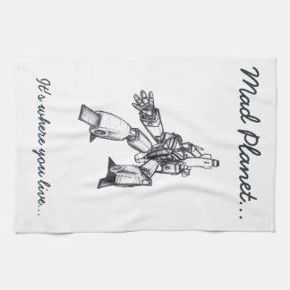 Version 7 tea towel