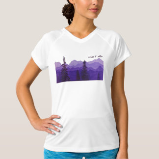 """Verso l' alto"" Women's Performance Shirt"