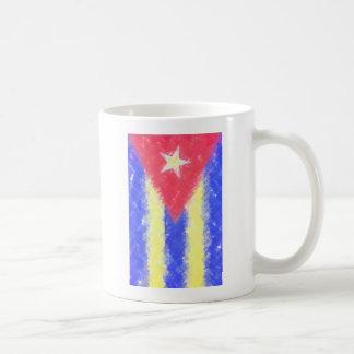 Versões da bandeira de Cuba Canecas