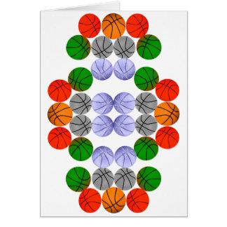 Vertical Balls Card