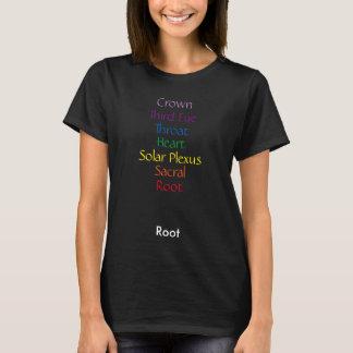 Vertical Chakra Words T-Shirt