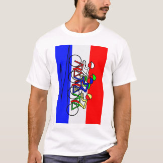 Vertical Climb - Tour de France T-Shirt