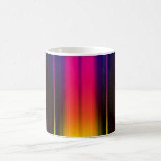 Vertical Color Stripes Coffee Mug