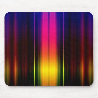 Vertical Color Stripes Mouse Pad