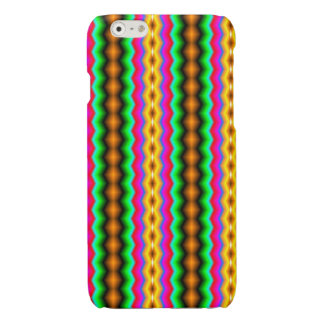 Vertical colorful line pattern iPhone 6 plus case