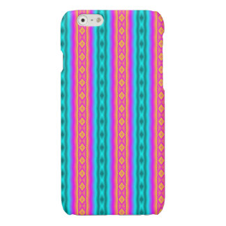 Vertical colorful pattern iPhone 6 plus case