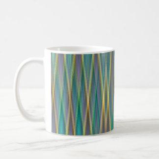 Vertical Crossover Pattern Mug
