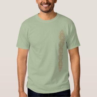 Vertical Firey Celtic Knot Strip Tshirts