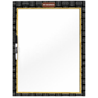 Vertical Horizontal Line Dry Erase Big Plain Board