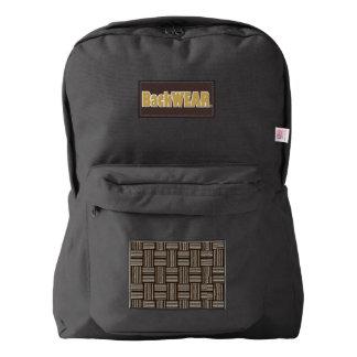 Vertical Horizontal Lines Designer Modern backpack
