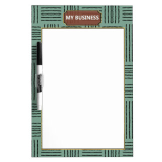 Vertical Horizontal Lines Dry Erase Plain Board