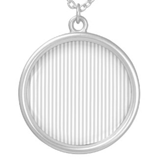 Vertical Lines Designer Personalized Necklace