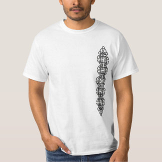 Vertical Metal Celtic Knot Strip T-Shirt