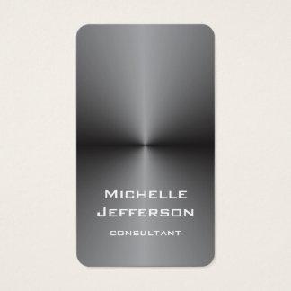 Vertical Metallic Silver Gray Stylish Trendy