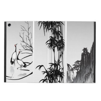 Vertical Oriental Scroll iPad Air Case