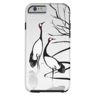 Vertical Oriental Scroll Tough iPhone 6 Case