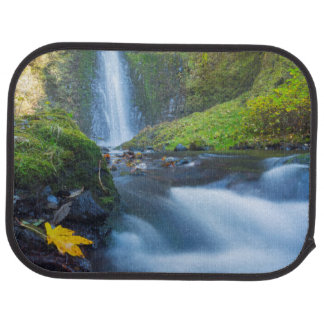 Vertical panorama view of Tunnel Falls Car Mat