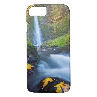 Vertical panorama view of Tunnel Falls iPhone 7 Case