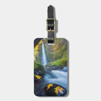 Vertical panorama view of Tunnel Falls Luggage Tag